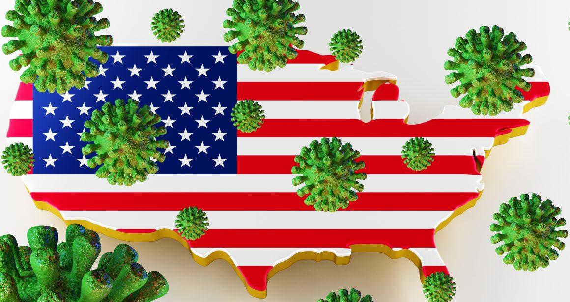 Koronawirus w USA, fot. Shutterstock.