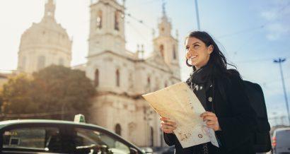 Turystka, fot. Shutterstock.