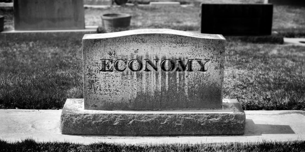 The death of economy. Fot. Shutterstock