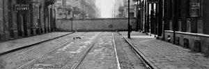 Fragment murów getta warszawskiego. Fot. Everett Historical / Shutterstock.com
