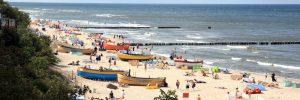 Plaża nad Bałtykiem, Fot. Shutterstock.com