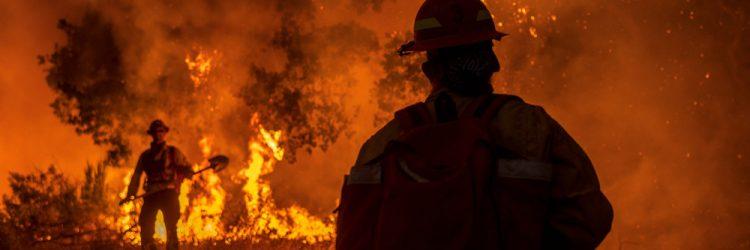 Pożary w Kalifornii, 2020, fot. Stratos Brilakis / Shutterstock.com